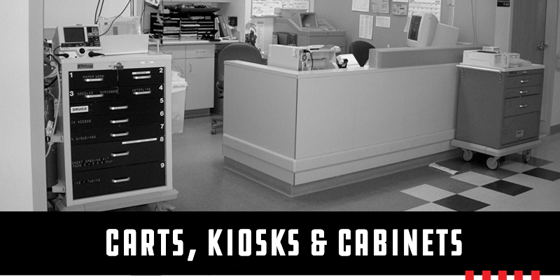 Industrial Carts, Kiosks, and Cabinets Image